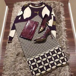 Zara 2pc sweater+skirt